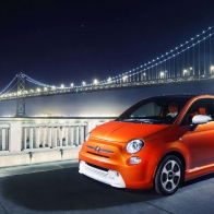 2014 Fiat 500e Hd Wallpapers