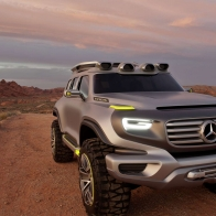 2014 Mercedes Benz Ener G Force Concept Hd Wallpapers