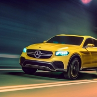 2015 Mercedes Benz Glc Coupe Concept