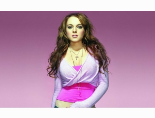 Lindsay In Pink Tops