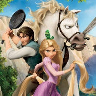 Tangled Rapunzel, Flynn And Maximus