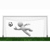 3d Football Animation Wallpaper