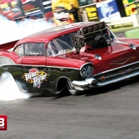 57 Chevy Dragster Wallpaper