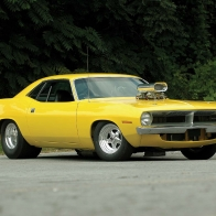 70 Plymouth Barracuda Pro Street Wallpaper