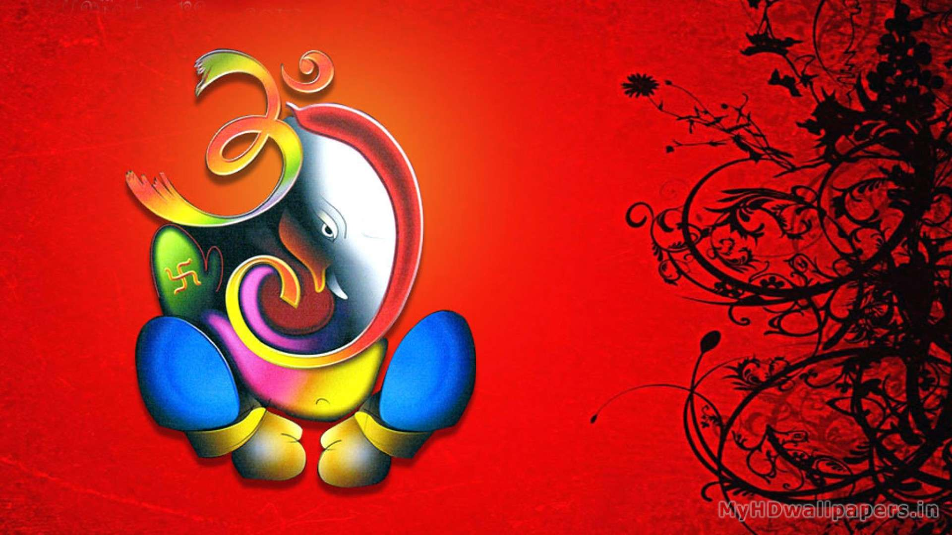 lord ganesha wallpaper computer background - photo #16