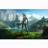 Earthrise Cg Girl
