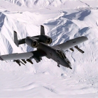 A 10 Over Snow Wallpaper
