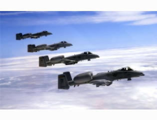 A 10 Warthogs Wallpaper