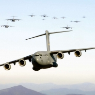 A Flock Of Globemasters Wallpaper