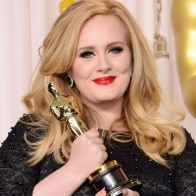 Adele With Oscar 2013 Wallpaper Wallpapers