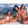 Adriana Lima Alessandra Ambrosio And Ana Beatrix Barros Wallpaper