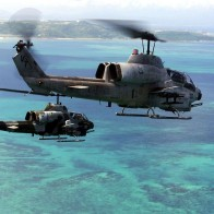 Ah 1w Combat Helicopters