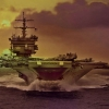Download aircraft carrier sunset, aircraft carrier sunset  Wallpaper download for Desktop, PC, Laptop. aircraft carrier sunset HD Wallpapers, High Definition Quality Wallpapers of aircraft carrier sunset.