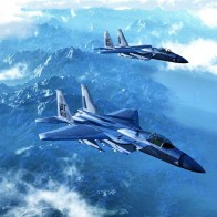 Aircraft F 15 Eagle Skyscapes
