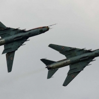 Aircraft Poland Sukhoi Su 22 Wallpaper