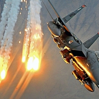 Airplane Airstrike F 15e Strike Eagle