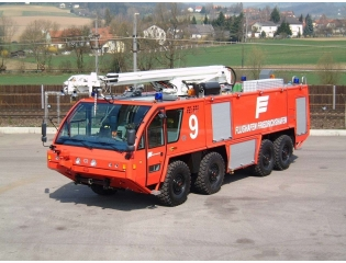 Airport Fire Truck Germany Wallpaper