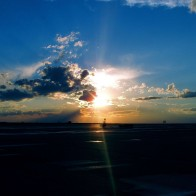 Airport Sunset Wallpapers