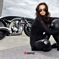 Akrapovic Morsus Custom Bike Wallpaper