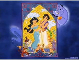 Aladdin And Jasmine Wallpaper