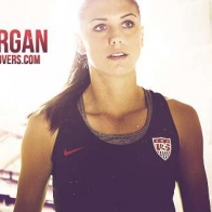 Alex Morgan Cover