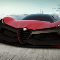 Alfa Romeo Zero Lm C Car Wallpaper