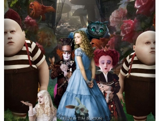 Alice In Wonderland Movie Poster Wallpapers