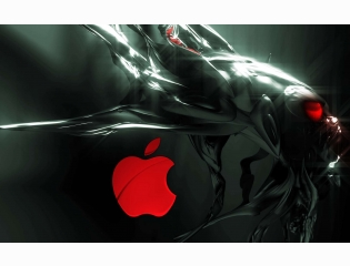 Alien Apple Wallpapers