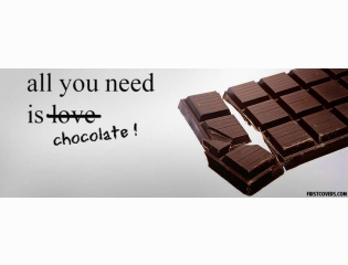 All You Need Is Chocolate Cover