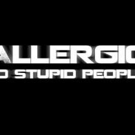 Allergic To Stupid People Cover