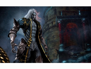 Alucard In Castlevania Lords Of Shadow 2