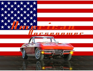 American Horsepower Wallpaper