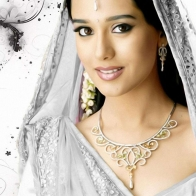 Amrita Rao Saree Wallpapers