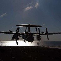 An E 2c Hawkeye From Carrier Airborne Wallpapers