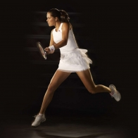 Ana Ivanovic Playing Tennis Wallpaper Wallpapers
