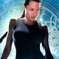 Angelina Jolie As Lara Croft Wallpapers