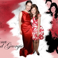 Anna Popplewell And Georgie Henley Wallpaper