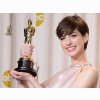 Anne Hathaway Oscar Wallpaper Wallpapers