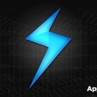App Storm Apple Mac Black Blue Space
