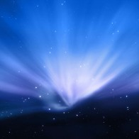 Apple Aurora Blue Wallpapers