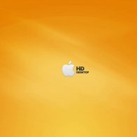Apple Hd Orange Wallpapers