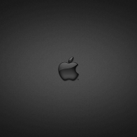 Apple In Glass Black Wallpapers