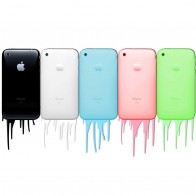 Apple Iphones In Colors Wallpapers