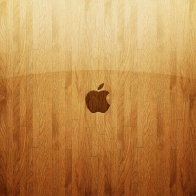 Apple Wooden Glass Wallpapers