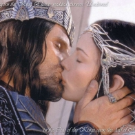 Aragorn And Arwen Wallpaper