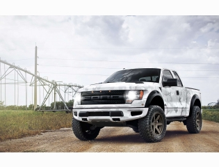 Arctic Camo Ford Raptor Hd Wallpapers