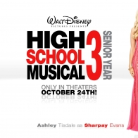 Ashley Tisdale As Sharpay Evans High School Wallpaper