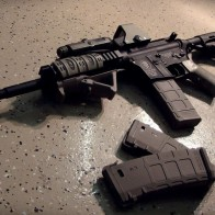 Assault Weapon Wallpaper