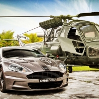 Aston Martin Helicopter