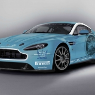 Aston Martin Returns To Race V12 Vantage Wallpapers